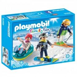 Playmobil Sportowcy Zimowi 9286