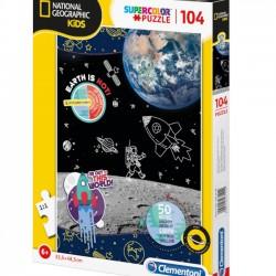 Puzzle Space Explorer - 104 el. - National Geographic Kids 27142