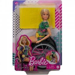 Barbie Fashionistas. Lalka na wózku GRB93