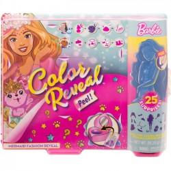 Mattel Barbie Color Reveal Modowa Niespodzianka Syrenka gxv93