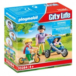 Playmobil - Mama z dziećmi 70284