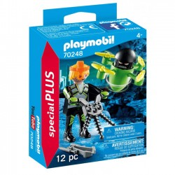 Playmobil - Agent z dronem 70248