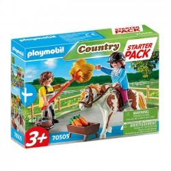 Playmobil - Starter Pack Stadnina Koni 70505