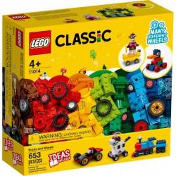 LEGO Classic - Klocki na kołach 11014