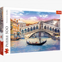 Puzzle 500 el. Most Rialto, Wenecja 37398
