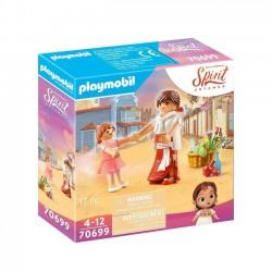 Playmobil - Mała Lucky & Milagro 70699