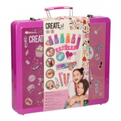 Create it Zestaw Make-up i Manicure w Walizce 84138