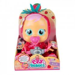 Cry Babies Tutti Frutti Ella w Truskawkowym Ubranku 93812