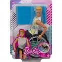Mattel Lalka Barbie Ken na Wózku Inwalidzkim gwx93