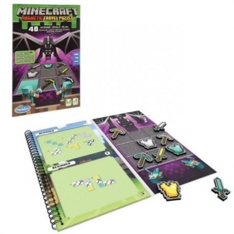 Gra Minecraft Łamigłówka Magnetyczna 76432