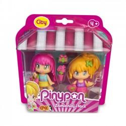 Pinypon City Na zakupach 2 Pack Laleczek 7 cm z Akcesoriami FPP16610