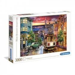 Clementoni Puzzle 3000el.  HQ San Francisco 33547