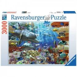 Ravensburger Puzzle 3000 el. Podwodne Życie 17027