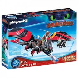 Playmobil Dragon Racing Szczerbatek i Czkawka 70727