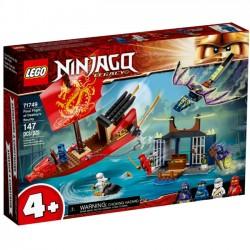 Lego Klocki Ninjago 71749 Ostatni lot Perły Przeznaczenia