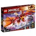 Lego Klocki Ninjago 71753 Atak Smoka Ognia