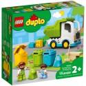 Lego Klocki Duplo 10945 Śmieciarka i Recykling