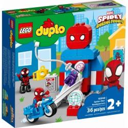 Lego Klocki Duplo 10940 Kwatera Główna Spider-Mana