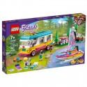 Lego Klocki Friends 41681 Leśny Mikrobus Kempingowy i Żaglówka