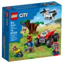 Lego Klocki City 60300 Quad Ratowników Dzikich Zwierząt