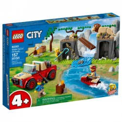 Lego Klocki City 60301 Terenówka Ratowników Dzikich Zwierząt