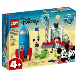 Kosmiczna rakieta Myszki Miki i Minnie