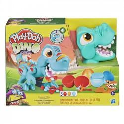 Masa Plastyczna z Akcesoriami PlayDoh Przeżuwający Dinozaur T-Rex f1504