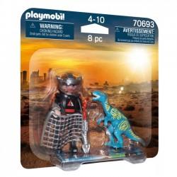 Playmobil - Duo Pack Polowanie na Velociraptora 70693