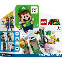 Lego Klocki Przygody z Luigim — Zestaw Startowy 71387