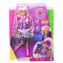 Mattel Lalka Barbie Extra Blond Kucyki gyj77
