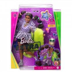 Mattel Lalka Barbie Extra Zielone Futro gfx10