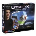 Laser X Evolution - Pistolet Na podczerwień Blaster Zestaw Pojedynczy LAS88911