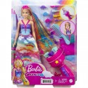 Barbie Lalka Dreamtopia Księżniczka Zakręcone Pasemka GTG00