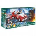 Pinypon Action – Pojazd z figurką 7 cm i Akcesoriami-Straż FPP16057