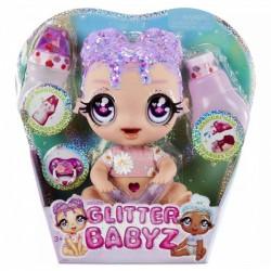 Glitter Babyz Brokatowa Lalka Lila Wildbloom 574866