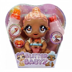 Glitter Babyz Brokatowa Lalka Solana Sunburst 577294