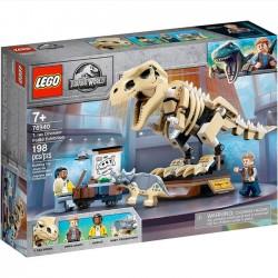 Lego Jurassic World - Wystawa skamieniałości tyranozaura 76940