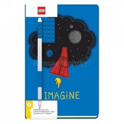 LEGO Notatnik z Płytką i Długopisem Niebieski 52523