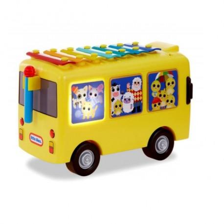 Muzyczny Autobus 3w1 Cymbałki LITTLE BABY BUM