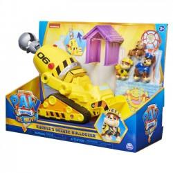 Psi Patrol Rubbles Deluxe Buldożer Zestaw z Figurkami  2671