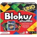 Mattel Gra Blokus Shuffle z Kartami w Styl UNO GXV91
