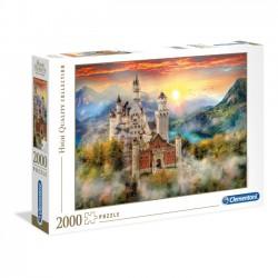 Clementoni Puzzle 2000 EL HQ Neuschwanstein 32559