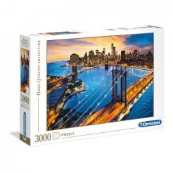 Clementoni Puzzle 3000 el. High Quality. Nowy Jork