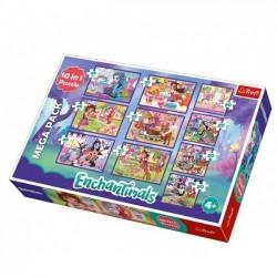 Puzzle 10w1 Przygody Enchantimals TREFL