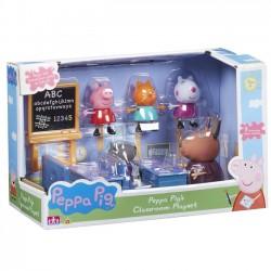 Świnka Peppa Zestaw Klasa Z Figurkami + Akcesoria