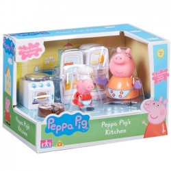 TM Toys Świnka Peppa Zestaw Kuchnia + Figurki