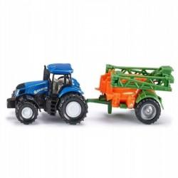 Siku Traktor New Holland + Opryskiwacz