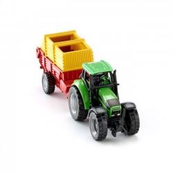 Zabawka SIKU Traktor z ładowarką Pottinger