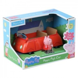 Świnka Peppa Auto z figurką Tm toys