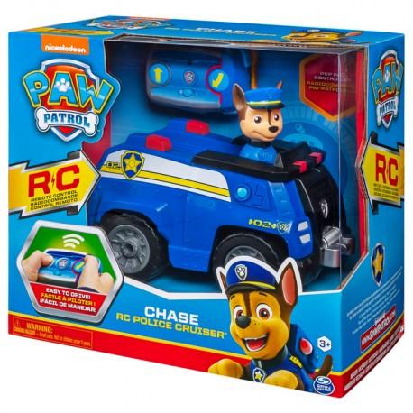 Psi Patrol Zdalnie sterowany radiowóz Chase z pilotem